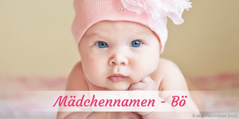 Mädchennamen mit Bö