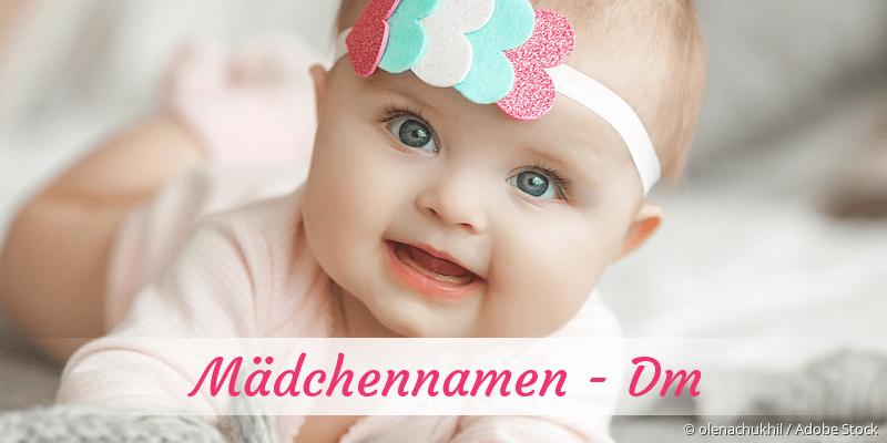 Mädchennamen mit Dm