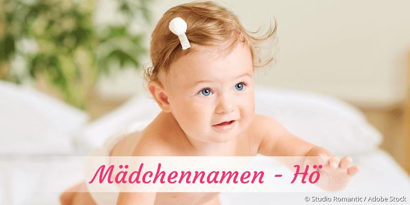 Mädchennamen mit Hö