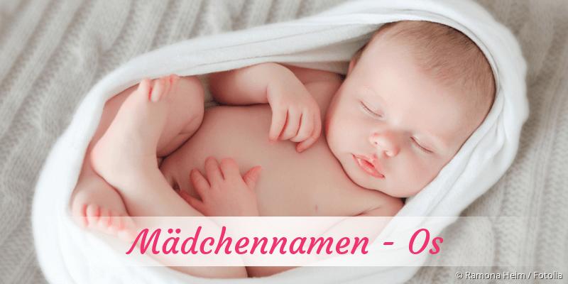 Mädchennamen mit Os