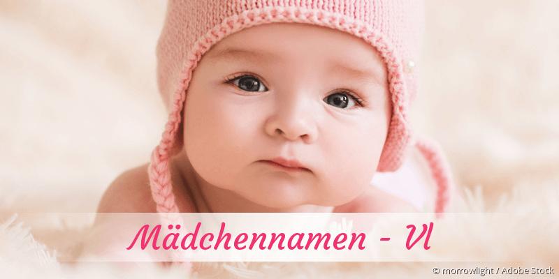 Mädchennamen mit Vl