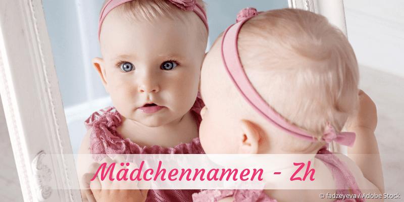 Mädchennamen mit Zh