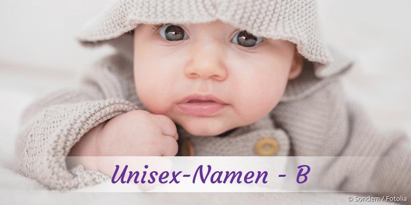 Unisex-Namen mit B