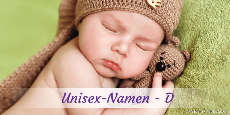 Unisex-Namen mit D