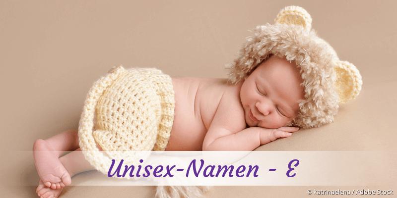 Unisex-Namen mit E