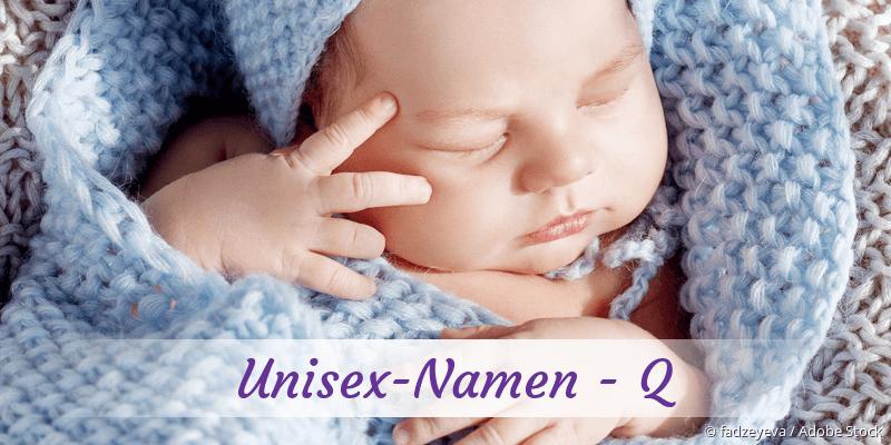 Unisex-Namen mit Q