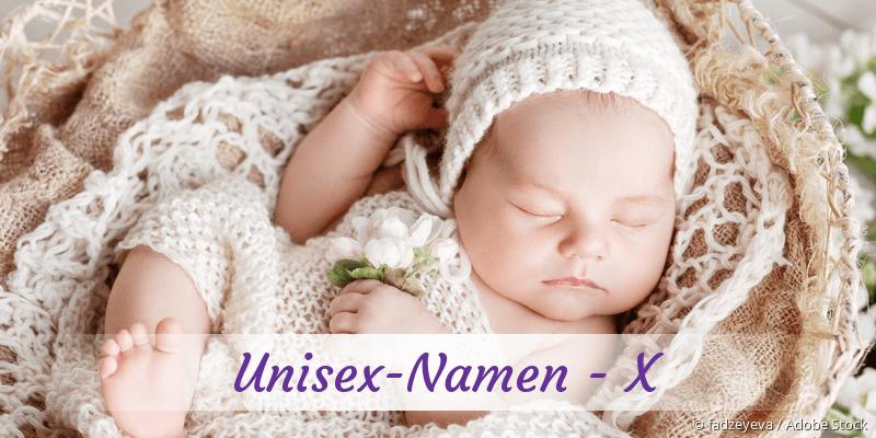 Unisex-Namen mit X