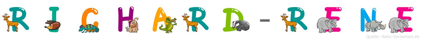 Richard-Rene im Tieralphabet