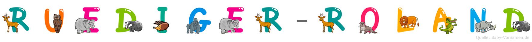 Rüdiger-Roland im Tieralphabet