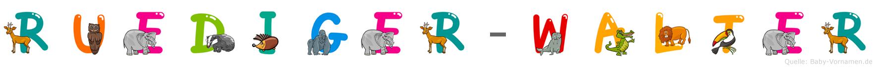 Rüdiger-Walter im Tieralphabet