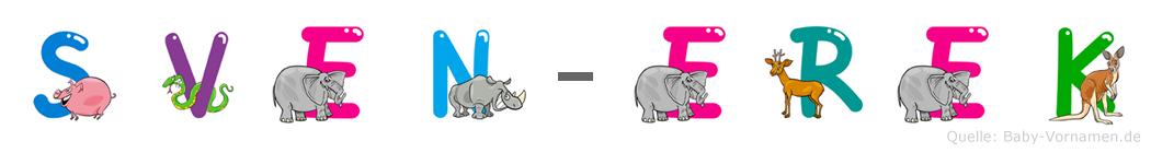 Sven-Erek im Tieralphabet