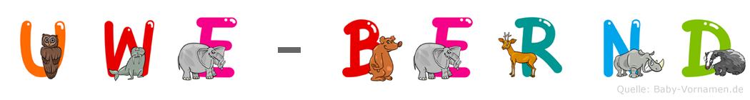 Uwe-Bernd im Tieralphabet