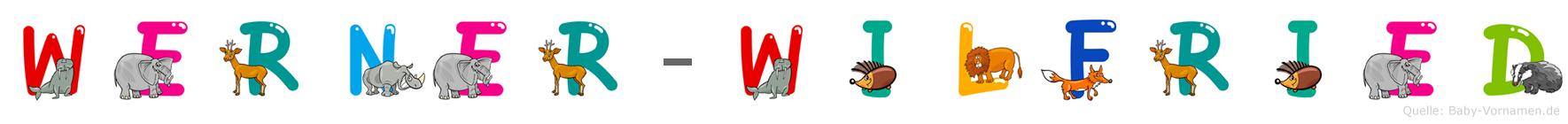 Werner-Wilfried im Tieralphabet