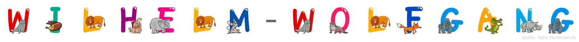 Wilhelm-Wolfgang im Tieralphabet