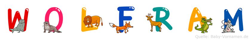 Wolfram im Tieralphabet