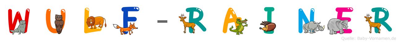 Wulf-Rainer im Tieralphabet