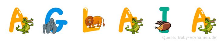 Aglaia im Tieralphabet