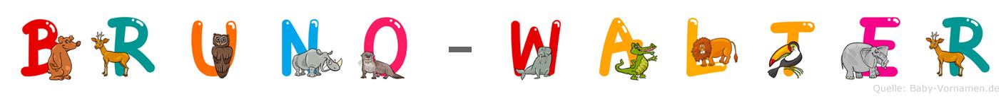 Bruno-Walter im Tieralphabet