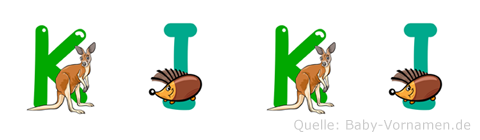 Kiki im Tieralphabet