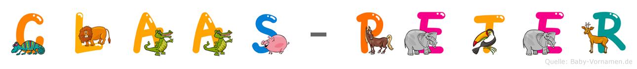 Claas-Peter im Tieralphabet