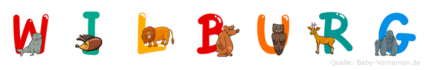 Wilburg im Tieralphabet