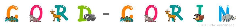 Cord-Corin im Tieralphabet
