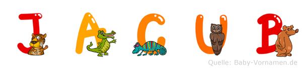 Jacub im Tieralphabet