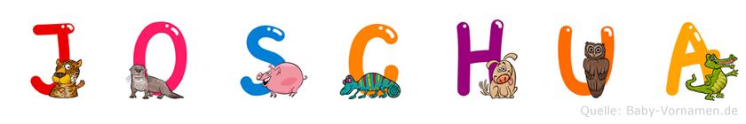 Joschua im Tieralphabet