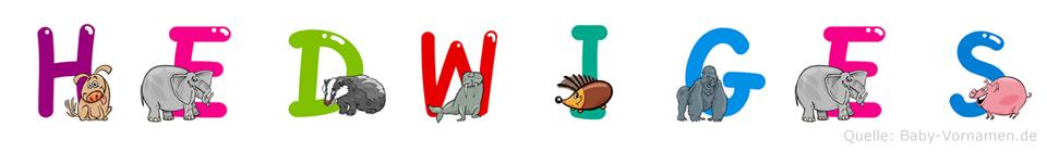 Hedwiges im Tieralphabet