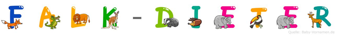 Falk-Dieter im Tieralphabet