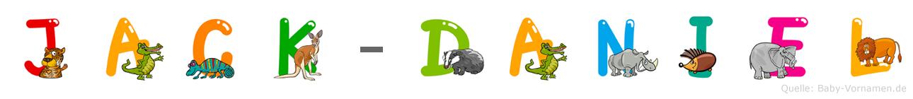 Jack-Daniel im Tieralphabet
