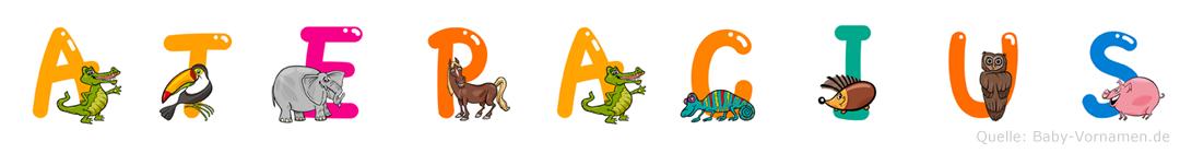 Atepacius im Tieralphabet