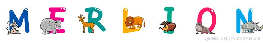 Merlion im Tieralphabet