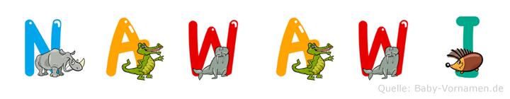 Nawawi im Tieralphabet