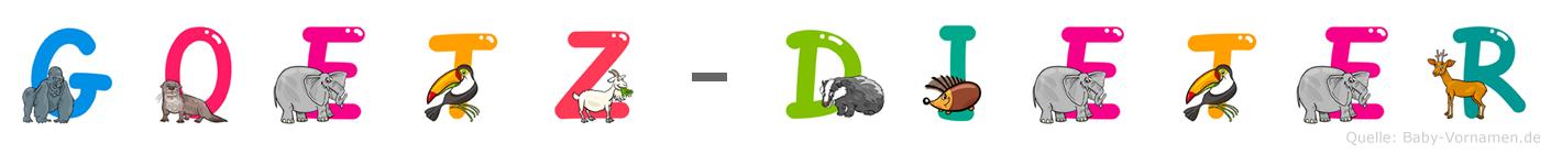Goetz-Dieter im Tieralphabet