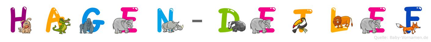 Hagen-Detlef im Tieralphabet