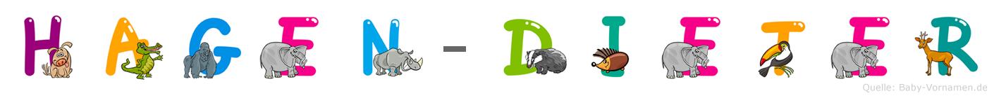 Hagen-Dieter im Tieralphabet