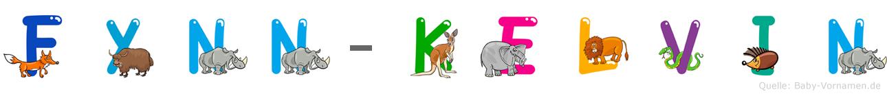 Fynn-Kelvin im Tieralphabet