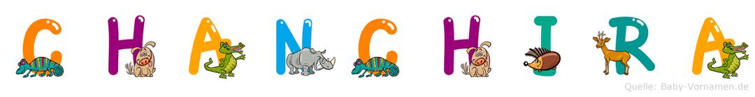 Chanchira im Tieralphabet