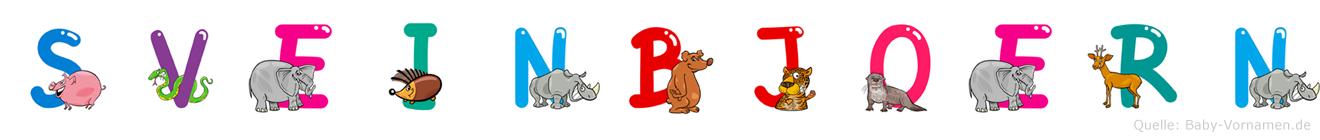 Sveinbjörn im Tieralphabet
