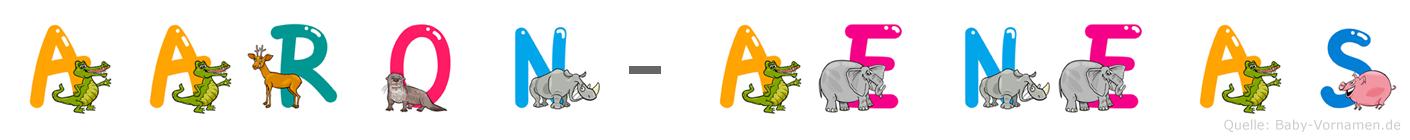 Aaron-Aeneas im Tieralphabet