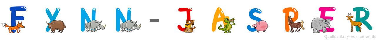 Fynn-Jasper im Tieralphabet