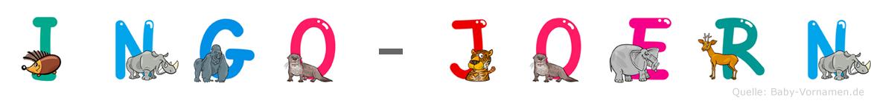 Ingo-Jörn im Tieralphabet