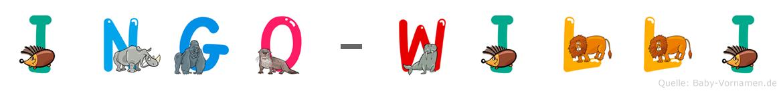 Ingo-Willi im Tieralphabet