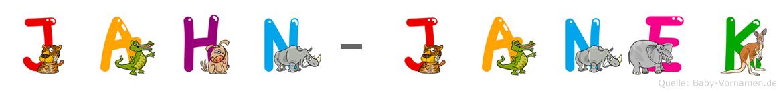 Jahn-Janek im Tieralphabet