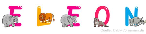 Eleon im Tieralphabet