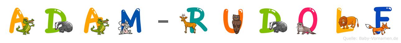 Adam-Rudolf im Tieralphabet