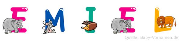 Emiel im Tieralphabet