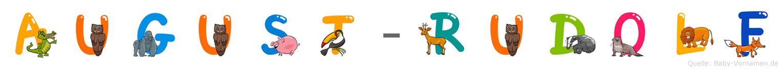 August-Rudolf im Tieralphabet