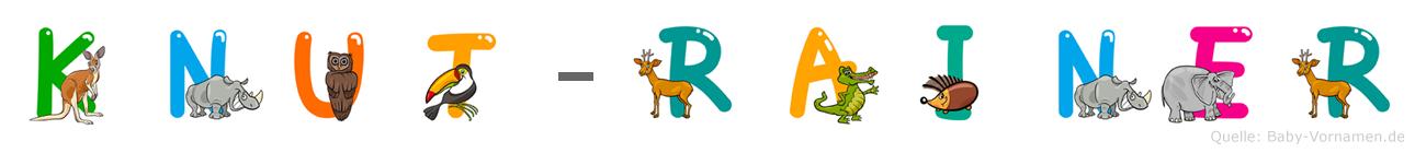 Knut-Rainer im Tieralphabet
